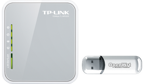 TP-Link TL-MR3020 OpenWrt