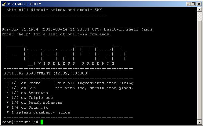 Прошивка TP-Link TL-MR3020 OpenWrt / OpenWrt / stD
