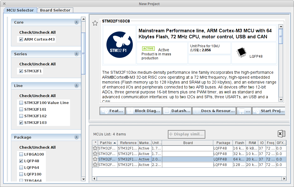 STM32 - STM32CubeMX и Atollic TrueStudio / STM32 / stD