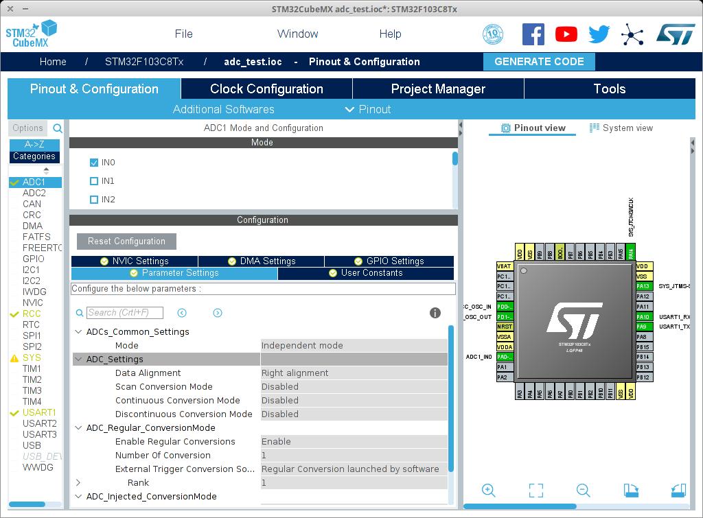 ADC HAL stm32 / STM32 / stD